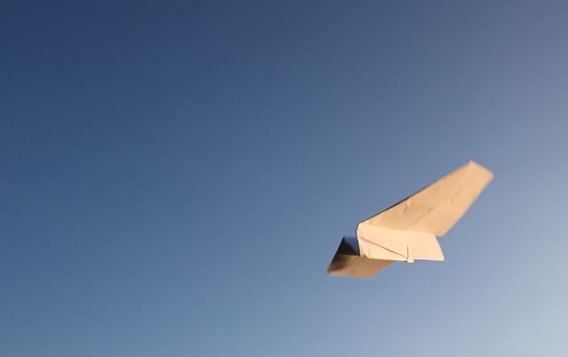 papírové létání